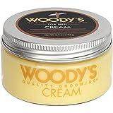 Woody's Grooming: Quality Grooming Hair Styling Cream, 3.4 oz