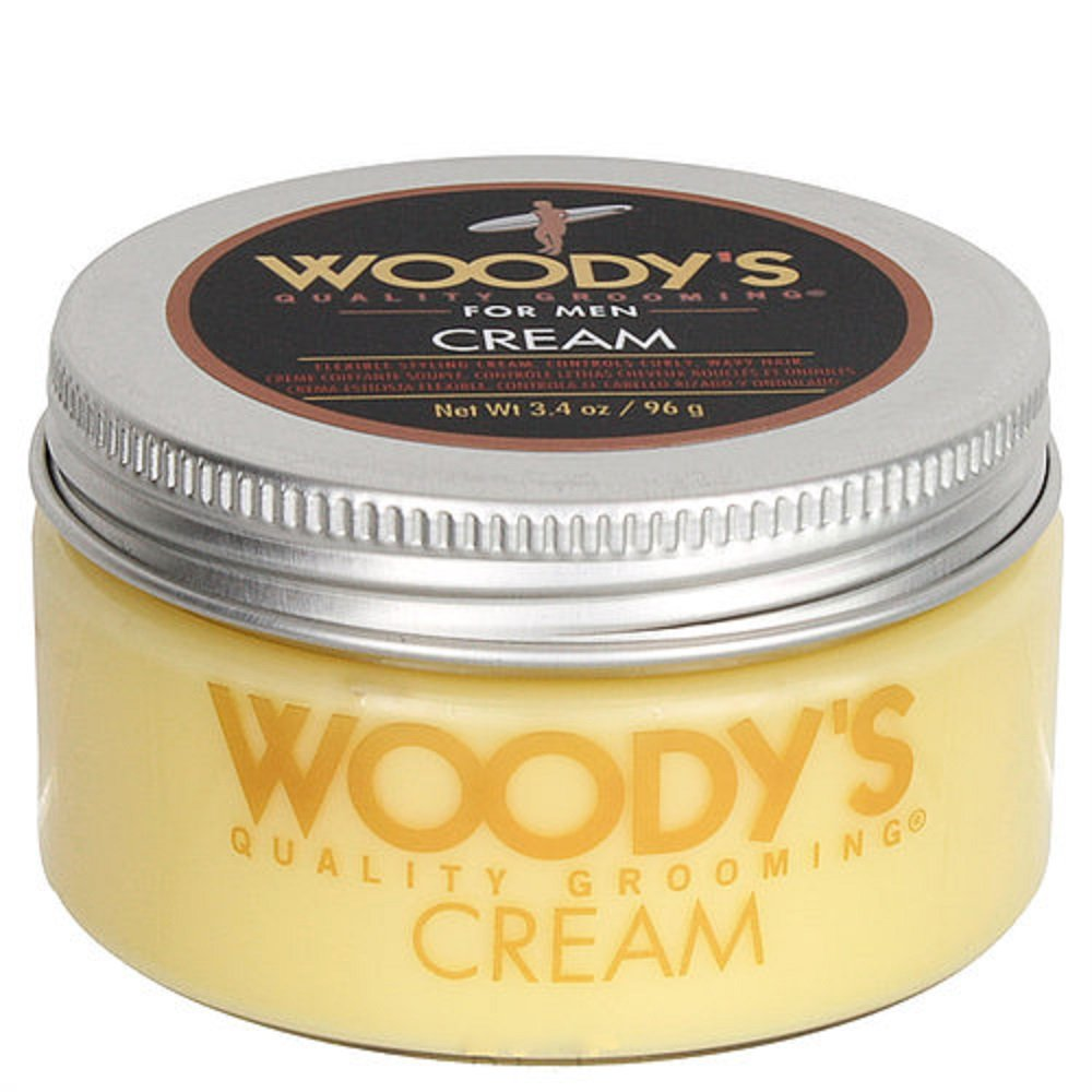 Amazon Com Woody S Grooming Quality Grooming Hair Styling Cream 3 4 Oz Hair Care Products Beauty