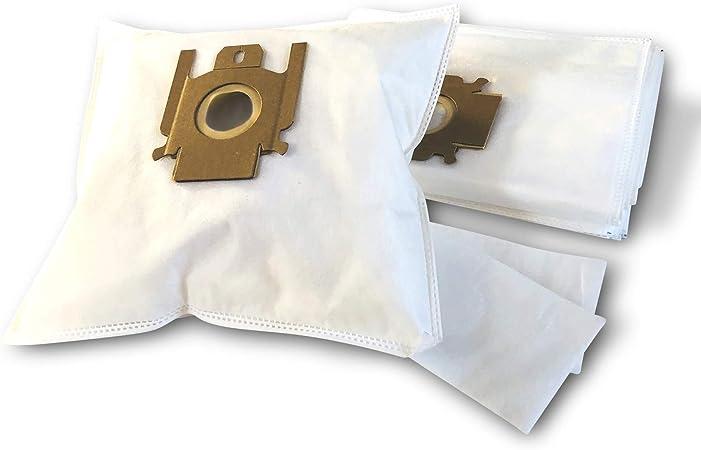 10 bolsas para aspiradoras Miele S 534, 536, 538, bolsas de filtro de bolsas de papel (+ 2 - Filtro de agua de NV617): Amazon.es: Hogar