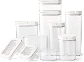Member's Mark 8 Pcs. Fliplock Containers Set