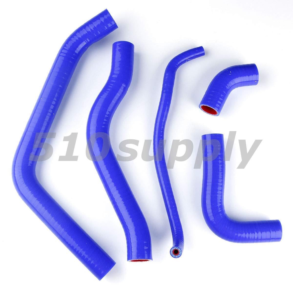 選べるカラー CMS製 ホンダ PC25 CBR600F3 PC25E '95-'98 ラジエターホース クーラントホース ブルー   B07P5676FF