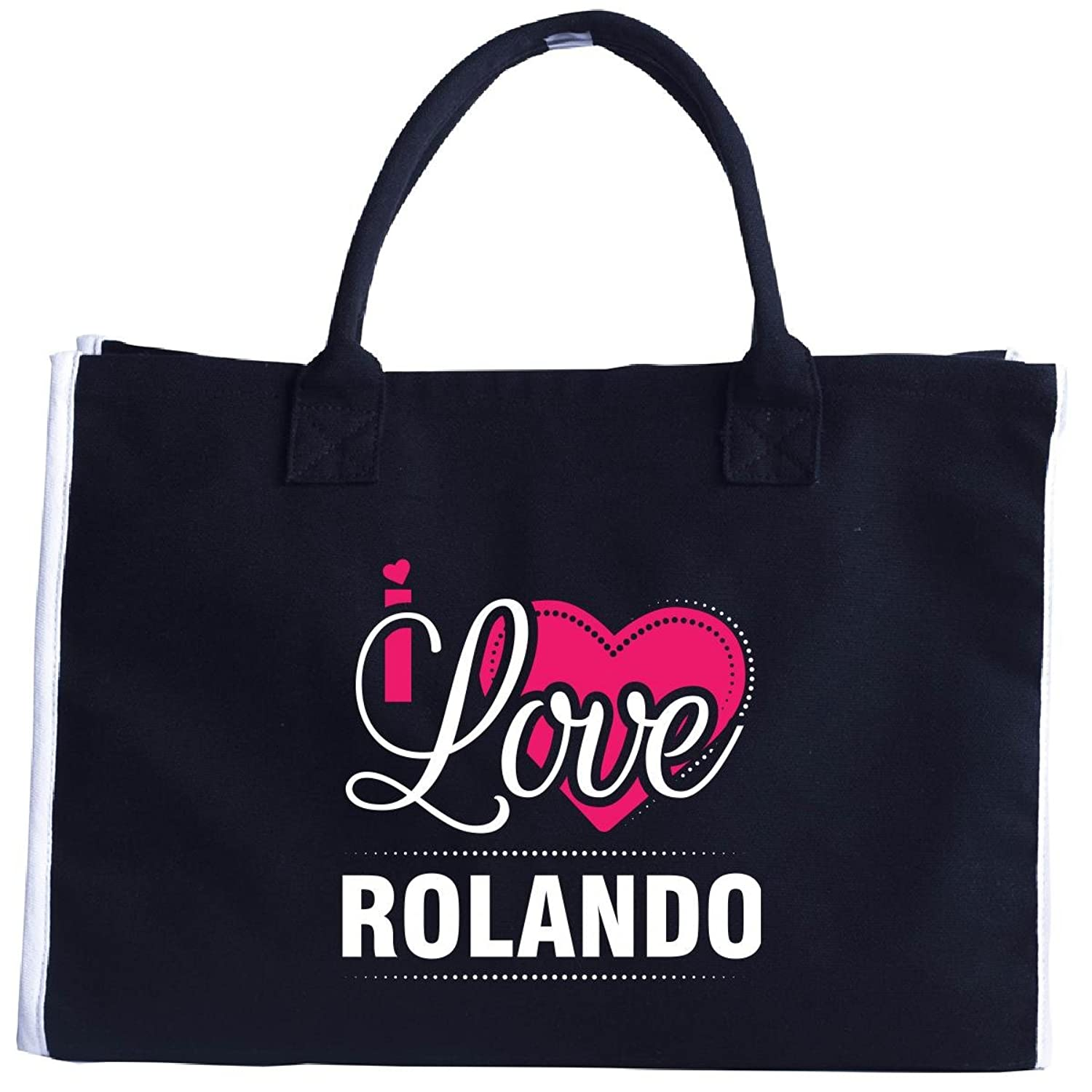 I Love Rolando - Cool Gift For Rolando From Girlfriend - Tote Bag