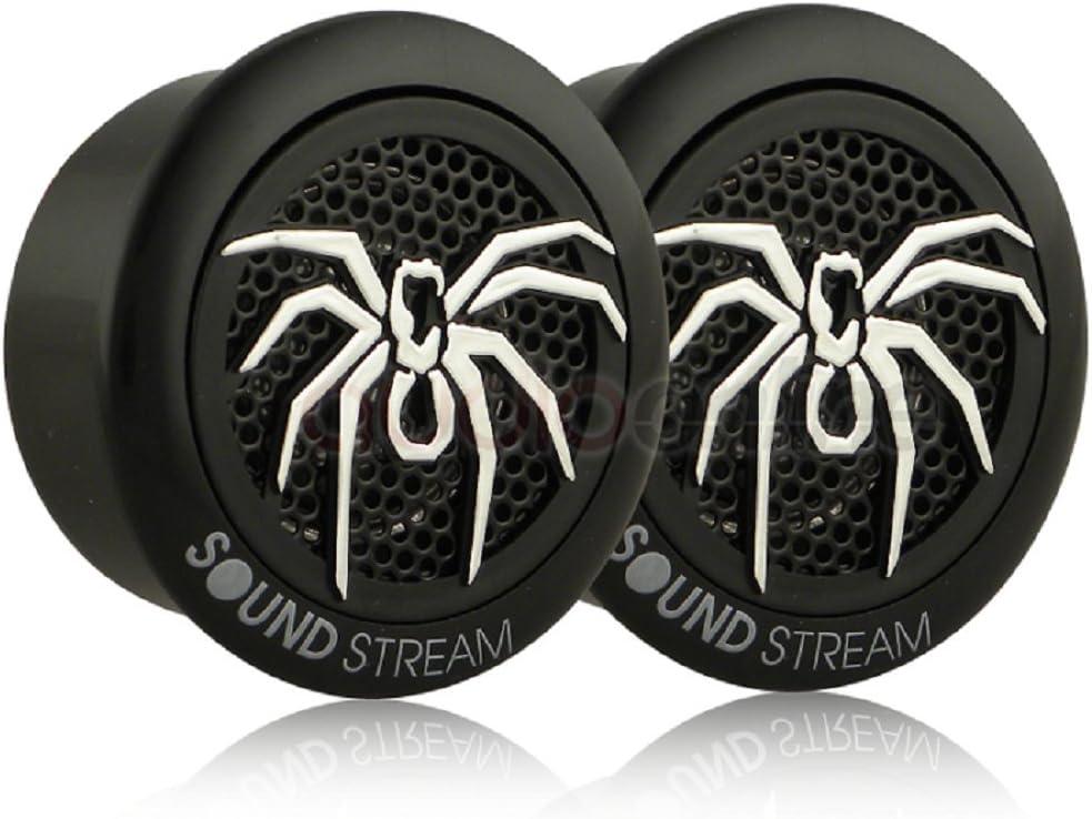 Soundstream TWS.3 1-Inch 110-Watt PEI Dome Tweeters Black