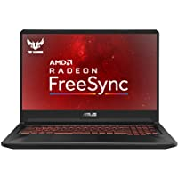 ASUS TUF FX705DY-EW005T 17.3 Inch Full HD Slim Bezel Gaming Laptop - (Black) (AMD Ryzen R5-3550H Quad-Core Processor, RX560 4 GB Dedicated Graphics, 8 GB RAM, 256 GB SSD + 1 TB HDD Storage)
