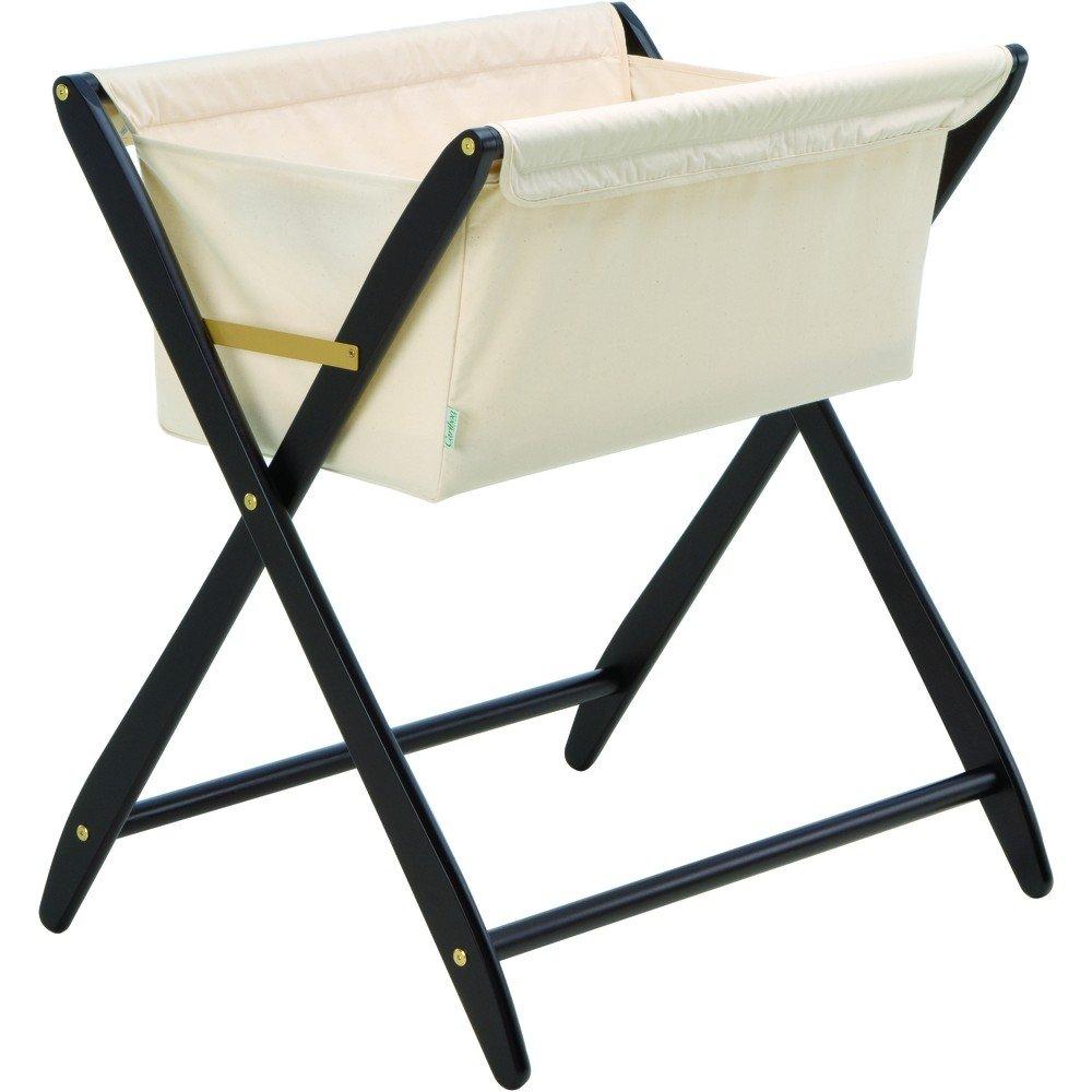amazoncom  cariboo folding bassinet in mahogany  baby -