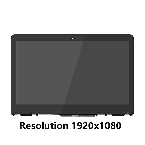 FTDLCD 13.3 HD FHD LCD Pantanlla Táctil Digitalizador Asamblea+Marco Reemplazo de Portátil