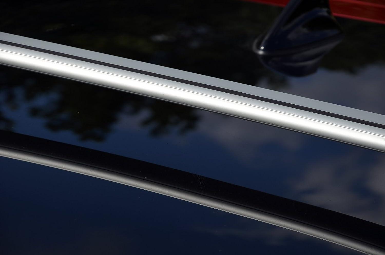 LTS AUTO ANTI-THEFT DESIGN LOCKABLE ALUMINIUM ROOF RACK BAR CROSS BARS 75 KG