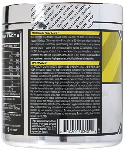 Cellucor, C4 Pre Workout (Old Formula) Supplements with Creatine, Nitric Oxide, Beta Alanine and Energy, G4v1, 30 Servings, Watermelon
