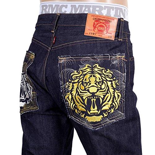 RMC Herren Jeanshose blau indigo
