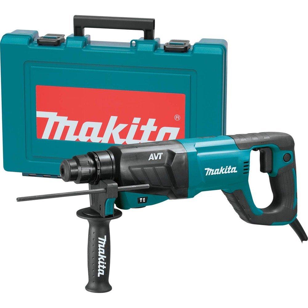 Makita HR2641 AVT Rotary Hammer Accepts SDS-PLUS Bits, 1'' by Makita (Image #1)