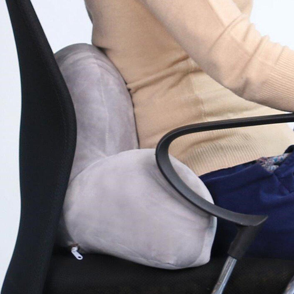 Bedrest Pillow Lumbar Pillow Adults,Men,Women Yaskitao Reading Pillow a Must Gift Sofa and Office Chair Back Support Pillow Blue, Small Lumbar Pillow for Kids Bed Rest Pillow with Arm