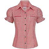 Gaudi-leathers Womens Shirt Mala Red Checkered Size 44