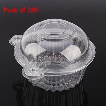 100pcs/200pcs Contenedores de Plástico para Comida Preparada Caja de Plástico en forma de gato para Guardar Frutas y Verduras Contenedores para Ensalada ...