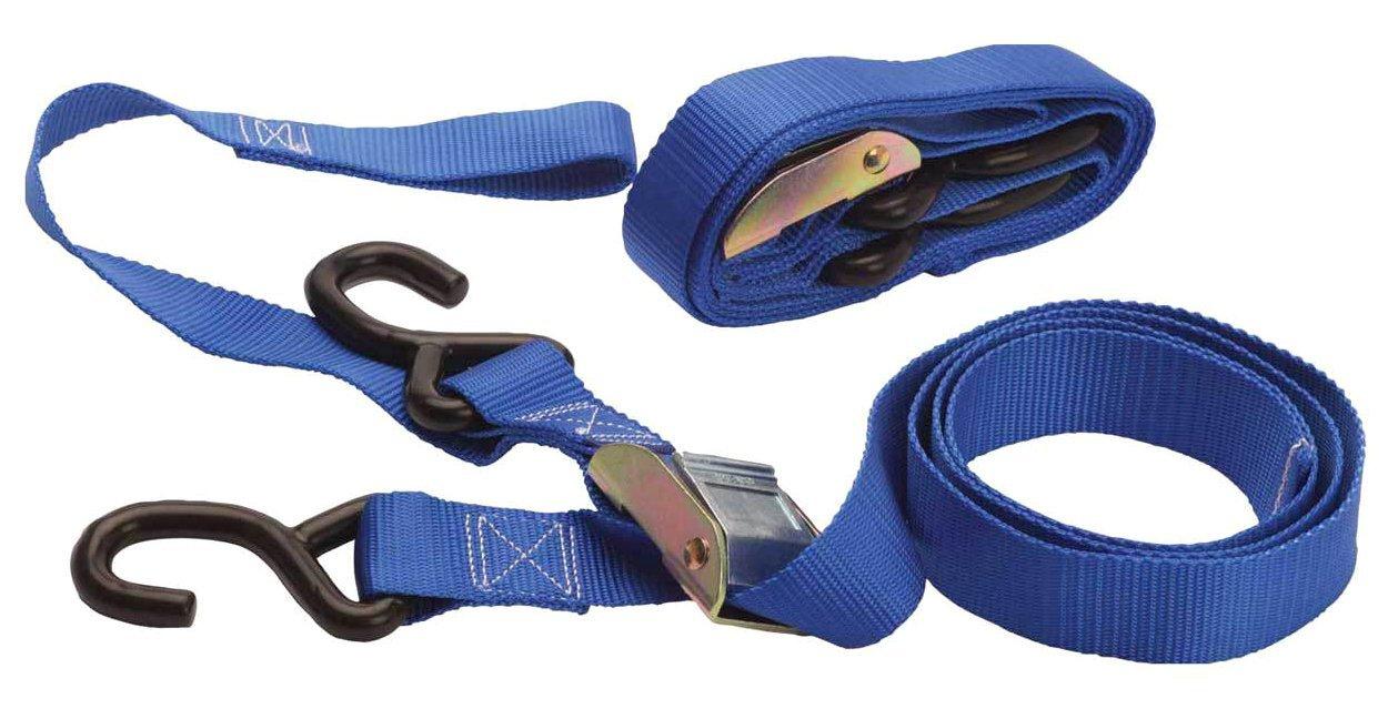 Rfx Fxtd 10000 99BU Pro Series Tie Downs pair, blu Race FX FXTD 10000 99BU