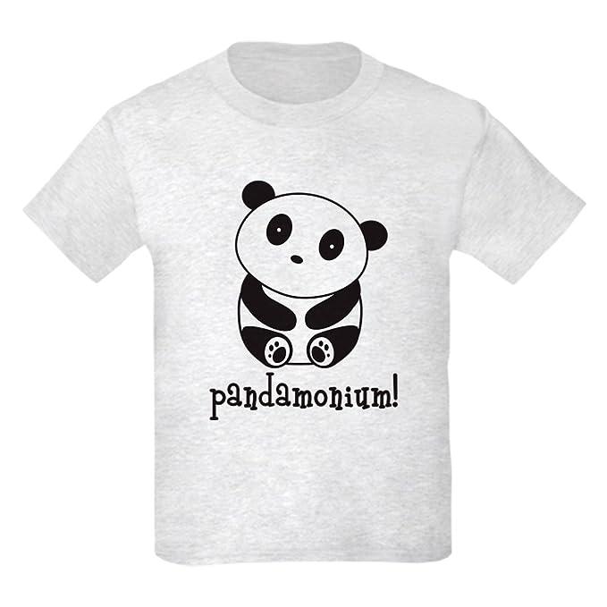 a4c0d9a3f Amazon.com: CafePress - Pandamonium Panda T-Shirt - Kids Cotton T ...