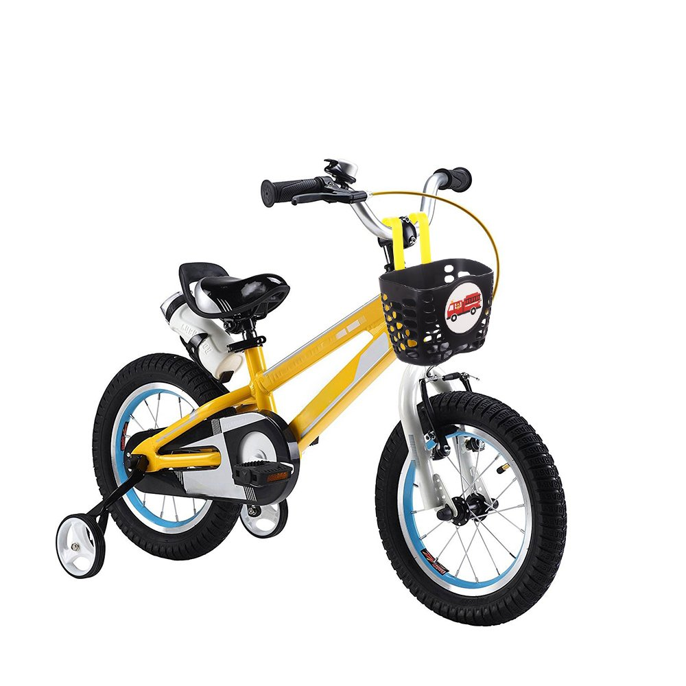 Mini-Factory Kid's Bike Basket, Cute Fire Truck Pattern Bicycle Handlebar Basket for Boy - Fire Truck by Mini-Factory (Image #2)