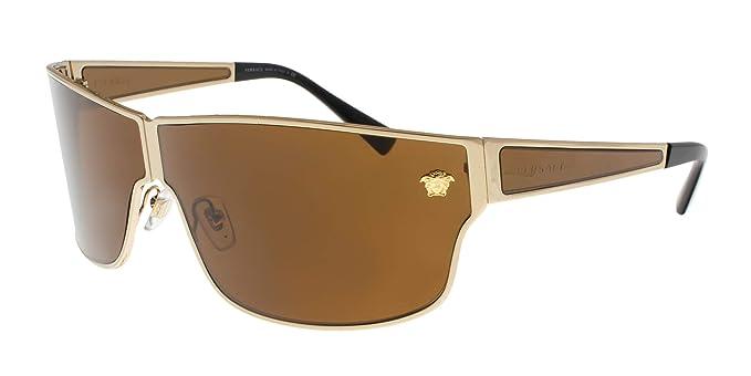 Versace 0VE2206 Gafas de sol, Gold, 72 para Hombre: Amazon ...