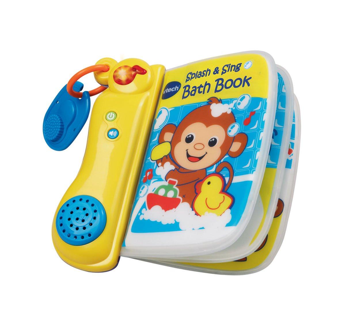 Amazon.com: VTech Slash & Sing Bath Book: Toys & Games