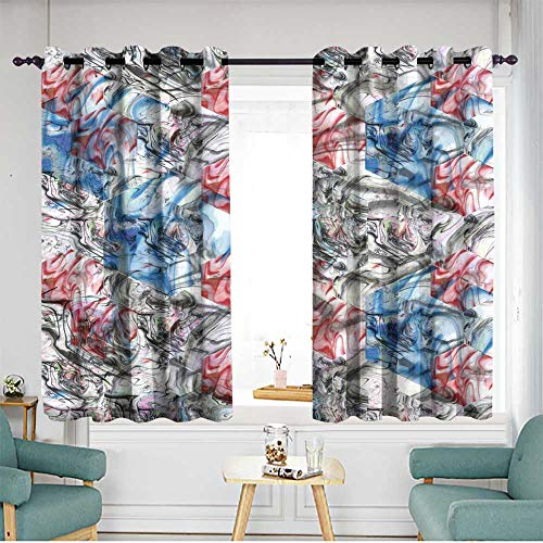 Doorway curtains Darkening Thermal Insulated Blackout W 63