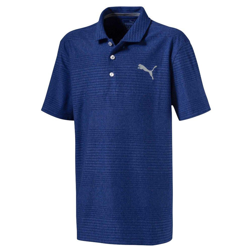 Puma Golf Boys 2018 Pounce Aston Polo, X-Small, Sodalite Blue