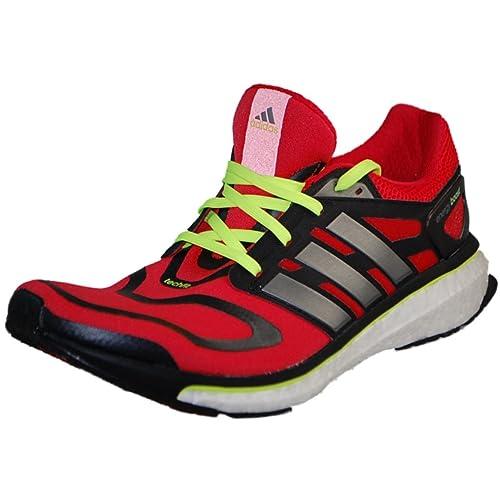 Adidas Men's Energy Boost Vivid RedNeo Iron 11.5 Medium (D