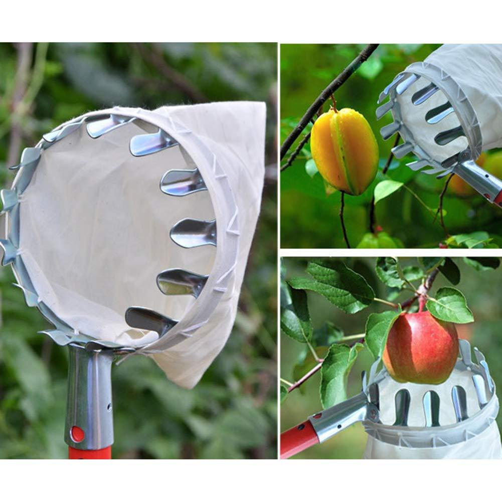 GoodFaith Panier /à fruits pour ramasser les fruits avec panier pour verger Ferme Jardin