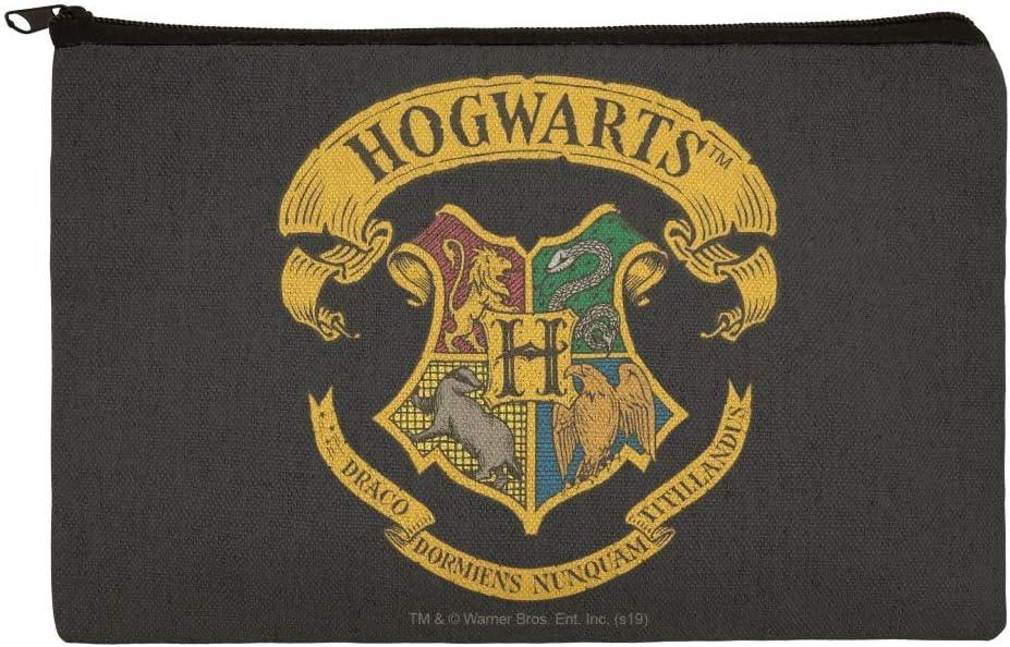 Harry Potter Ilustrated Hogwarts Crest Bolsa organizadora de Maquillaje