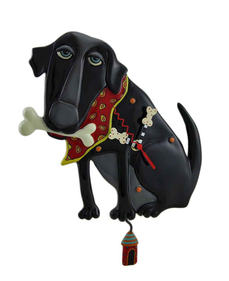 Allen Designs Dog Pendulum Wall Clock