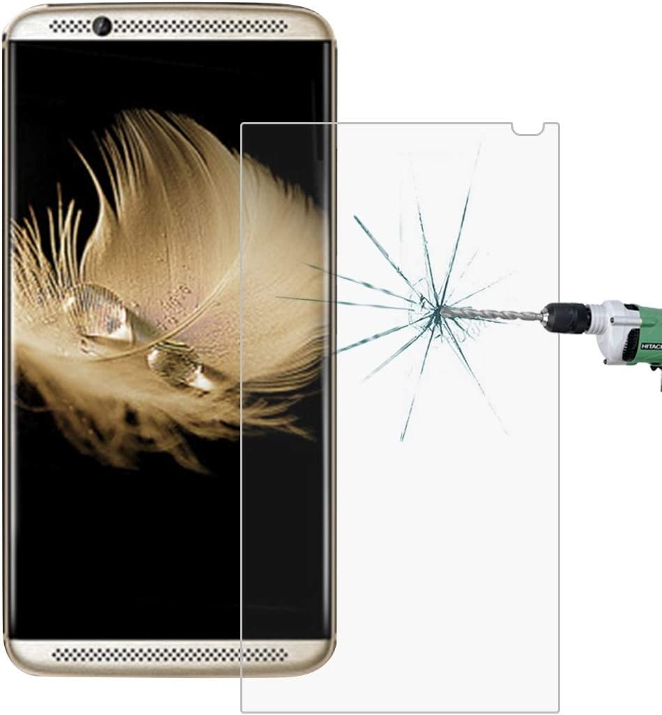 Lihuoxiu Phone Screen Protectors 50 PCS for ZTE AXON 7 0.26mm 9H Surface Hardness 2.5D Explosion-Proof Tempered Glass Screen Film No Retail Package