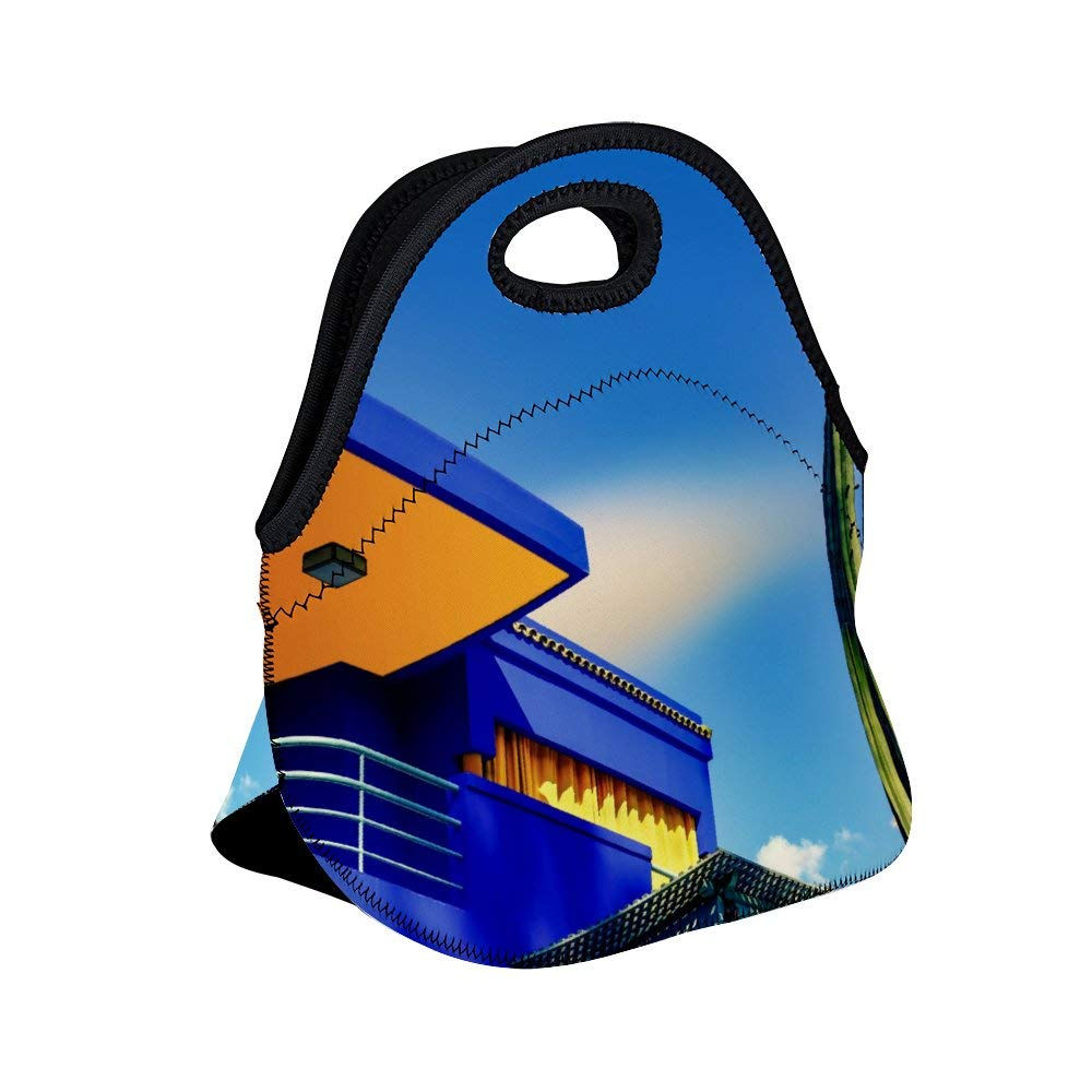 649203120506 Amazon.com: Uclipers Neoprene Lunch Bag Insulated Blue Concrete ...