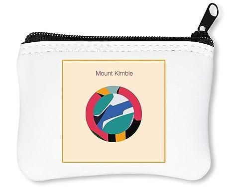 Mount Kimbie Circle Logo Billetera con Cremallera Monedero ...