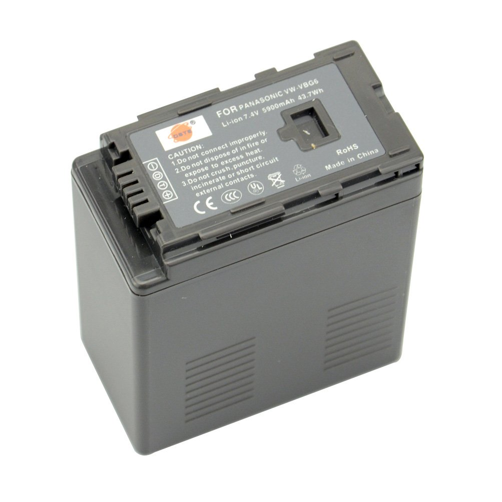 Camcorder batteria Accu per Panasonic nv-gs90