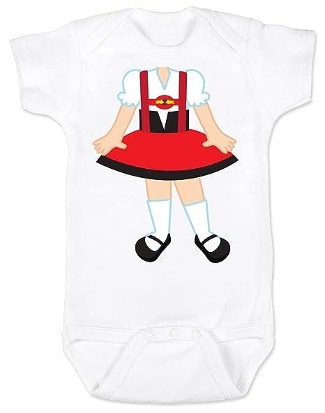 89a390955e7f Amazon.com: Vulgar Baby Bodysuit, Oktoberfest Dirndl - Little Bodies ...