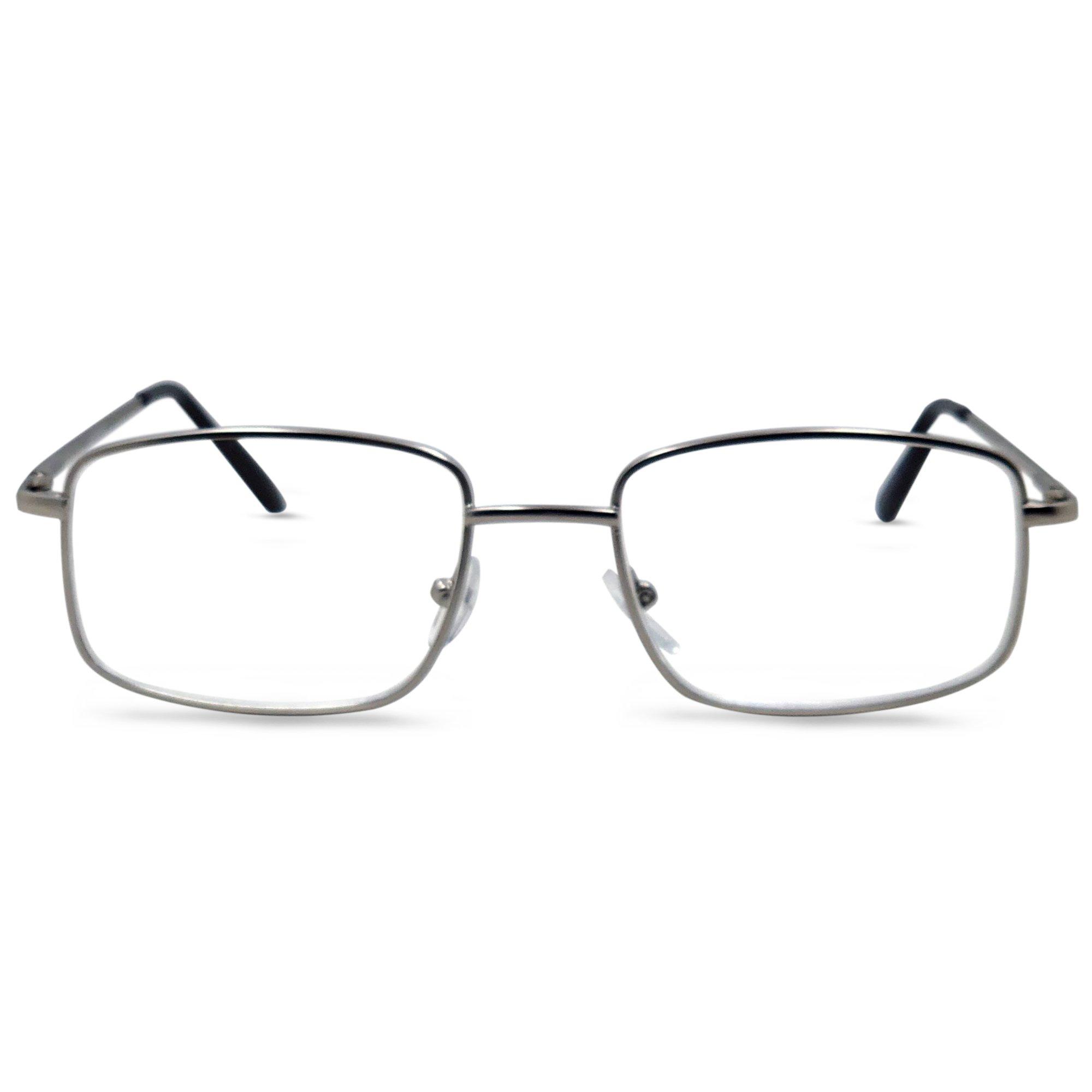 The Boston Reading Glasses (Silver, 2.50)