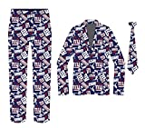 NFL York Giants Repeat Logo Ugly Business Suit-48 (XL)