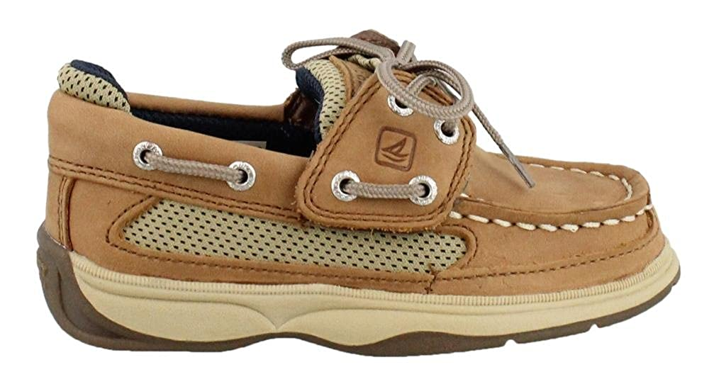 07c3f8abbe7a Amazon.com | Sperry Kids Baby Boy's Lanyard A/C (Toddler/Little Kid) Dark  Tan/Navy 11 M US Little Kid | Oxfords & Loafers