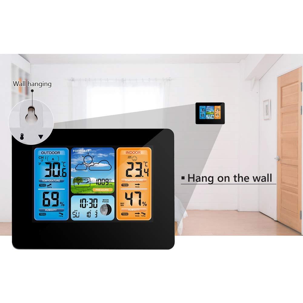 Wireless Wetterstation Digitale Farbprognose Wetterstation Indoor