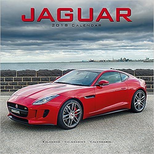 Jaguar 2018 Wall Calendar