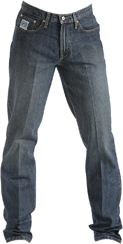 Cinch Mens Jeans White Label Relaxed Fit Dark Stone 36W x 38L