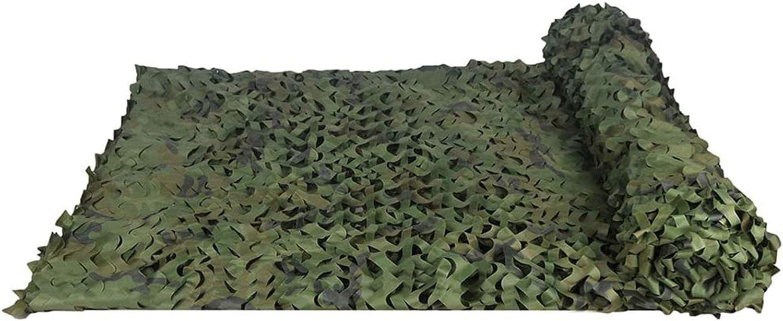 WWJQ Red Militar para Camuflaje Woodland para fotograf/ía Fondo decoraci/ón Caza persianas 3x4m Estampado de Camuflaje 210D Red para Tienda de campa/ña 2x3m