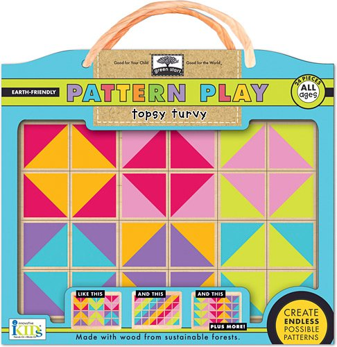 (Innovative Kids Green Start Pattern Play Puzzles: Topsy Turvy Puzzle)