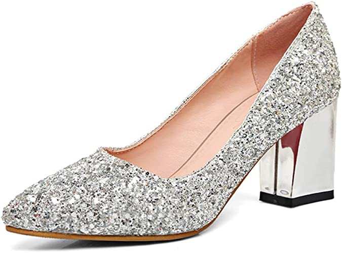Dress First Women's Pointed Toe Pumps