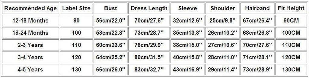 TWIFER/_/ét/é/_ Printemps/_Ramadan Muslim Abaya Dubai Robe Robe en V/êtement Traditionnel Robe B/éb/é Enfant Fille/_0 1 2 3 4 5 6 7 9 Ans Les magasins Ont