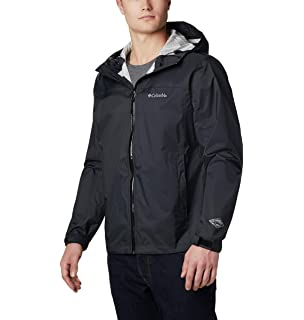 Amazon.com: Columbia Mens EvaPOURation Rain Jacket ...