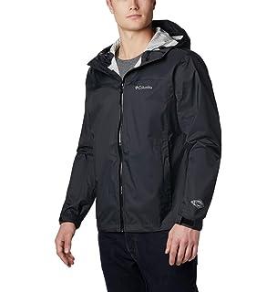 Amazon.com: Columbia Mens EvaPOURation Rain Jacket ...