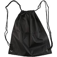 Waterproof Strong Nylon Cord Carry Handles Premium School Drawstring Duffle Softback Bag Sport Gym Swim Dance Shoe Backpack