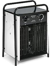 Trotec 1410000030 Calefactor eléctrico, Negro/Blanco