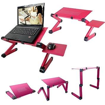 Mesa de ordenador portátil bandeja de cama de actualización de – 42 – 48 cm W