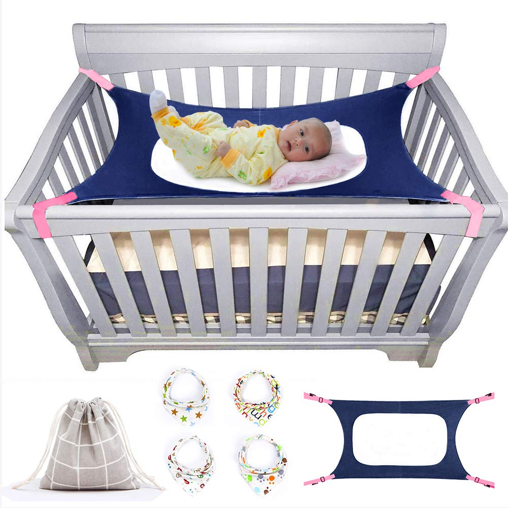 Baby Crib Hammock, Like Womb, Infant Hammock Bed, Enhanced Safety Features, Very Soft Fabric, Newborn Nursery Bed, Plus BabyWay Gift Bag
