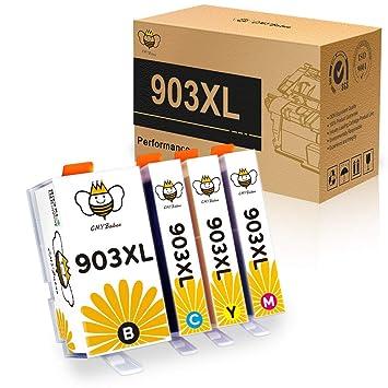 CMYBabee 903 903L 903XL Cartuchos de Tinta Reemplazo para HP 903 ...